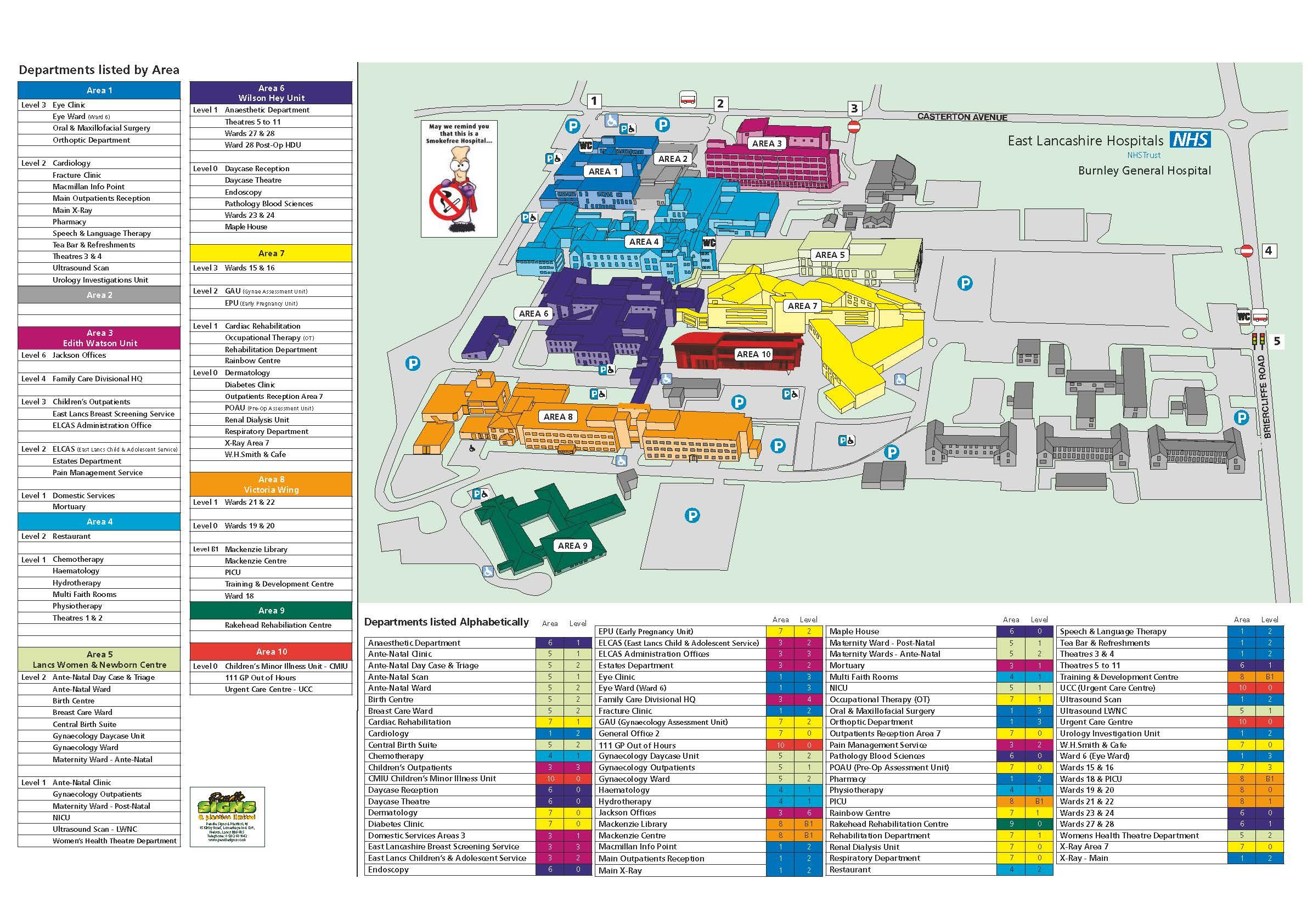 Map Of Uk Hospitals.Location Maps East Lancashire Hospitals Nhs Trust
