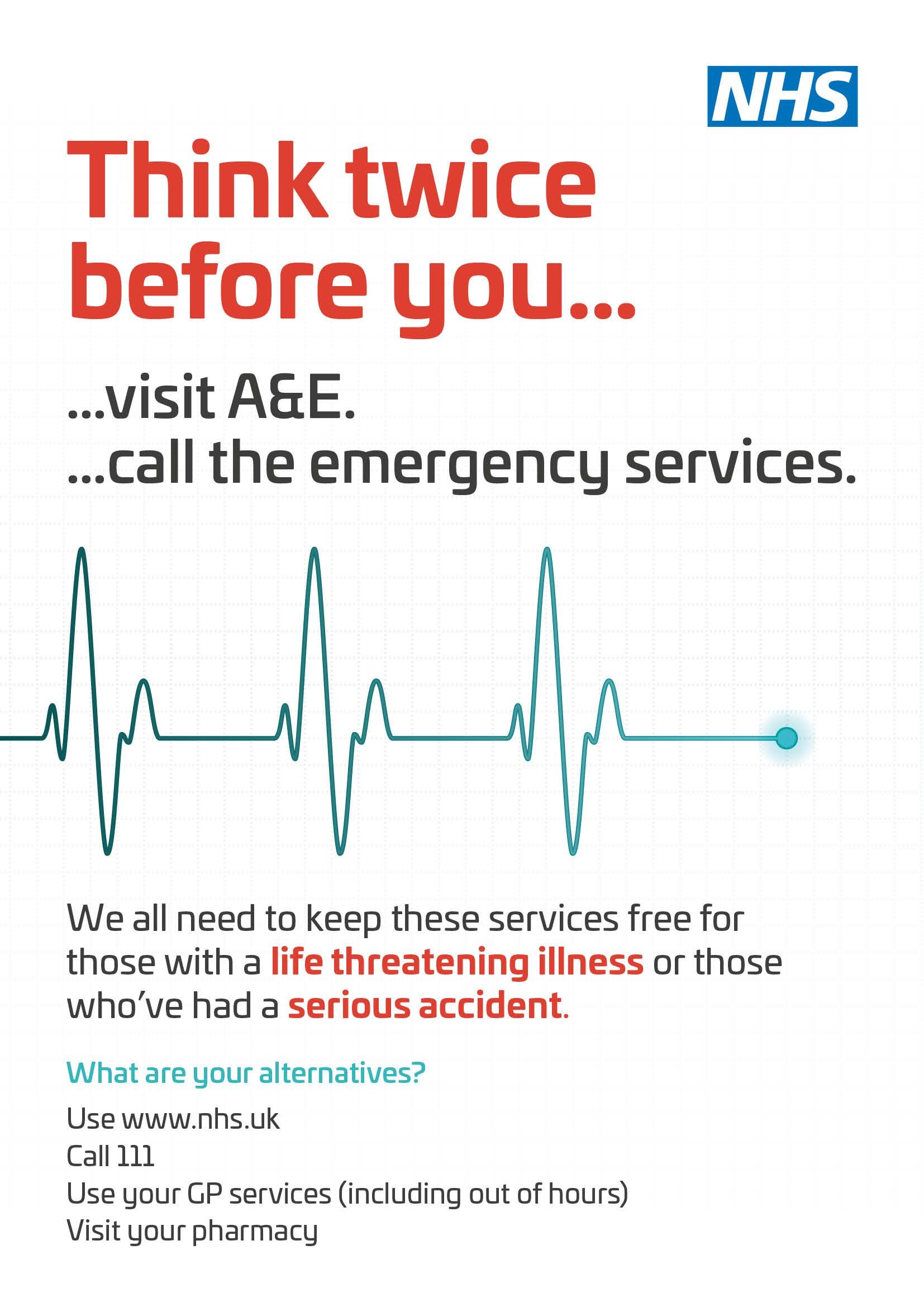 Feeling Unwell? :: East Lancashire Hospitals NHS Trust