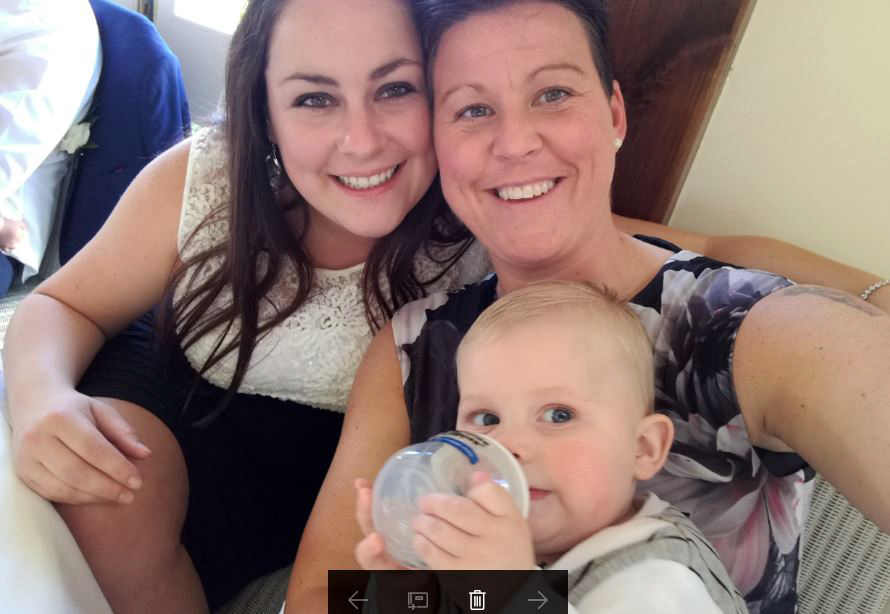 Mum's baby joy after miscarriages