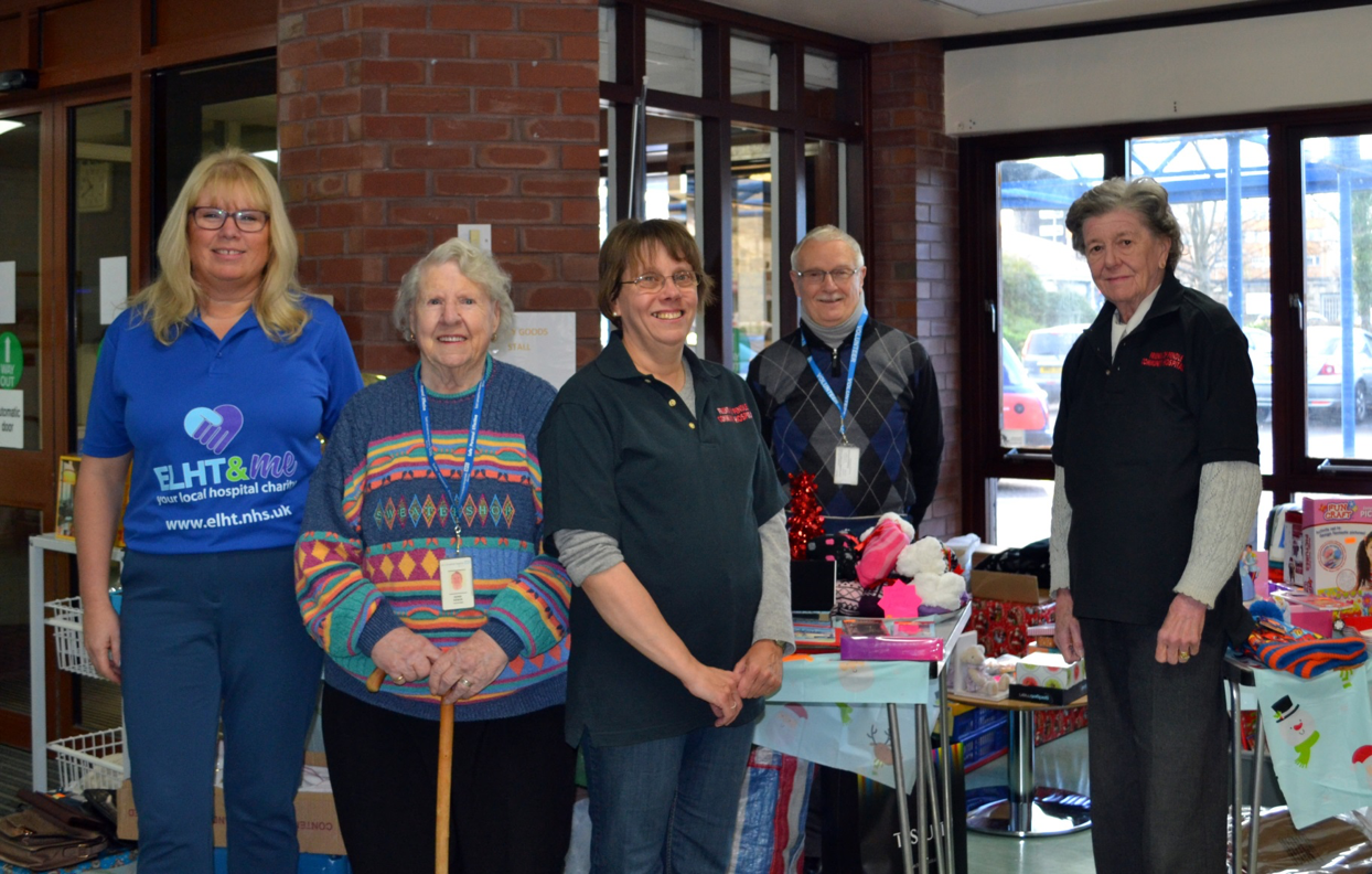 Christmas Fayre raises £375 for Pendle Community Hospital