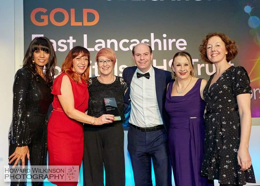 Patient safety magazine wins GOLD award